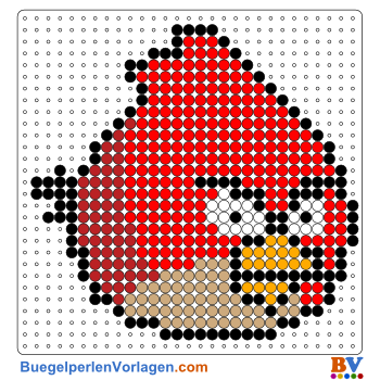 Bügelperlen Vorlagen Von Angry Birds Zum Ausdrucken