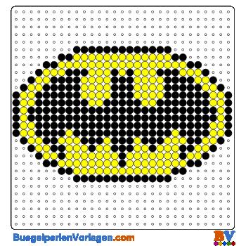Bugelperlen Vorlagen Von Batman Zum Herunterladen Und Ausdrucken