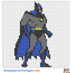 Batman buegelperlen vorlagen web 9259b