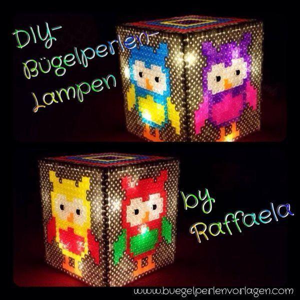 Do It Yourself Lampe Aus Bugelperlen