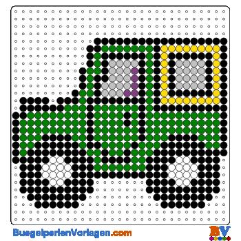 Bügelperlen Vorlage Fahrzeug