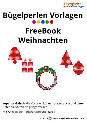 b gelperlen vorlagen von einem freebook f r weihnachten zum herunterladen und ausdrucken. Black Bedroom Furniture Sets. Home Design Ideas