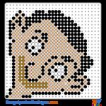 Mr Bean klein buegelperlen vorlagen web 90cd9