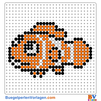 Bügelperlen Vorlage Nemo