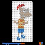 Phineas buegelperlen vorlagen web a0401