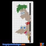 Phineas und Ferb buegelperlen vorlagen web ca5e0