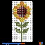 Sonnenblume buegelperlen vorlagen web ab499