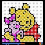 Winnie Pooh buegelperlen vorlagen web