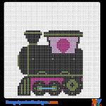 Zug buegelperlen vorlagen web 36717
